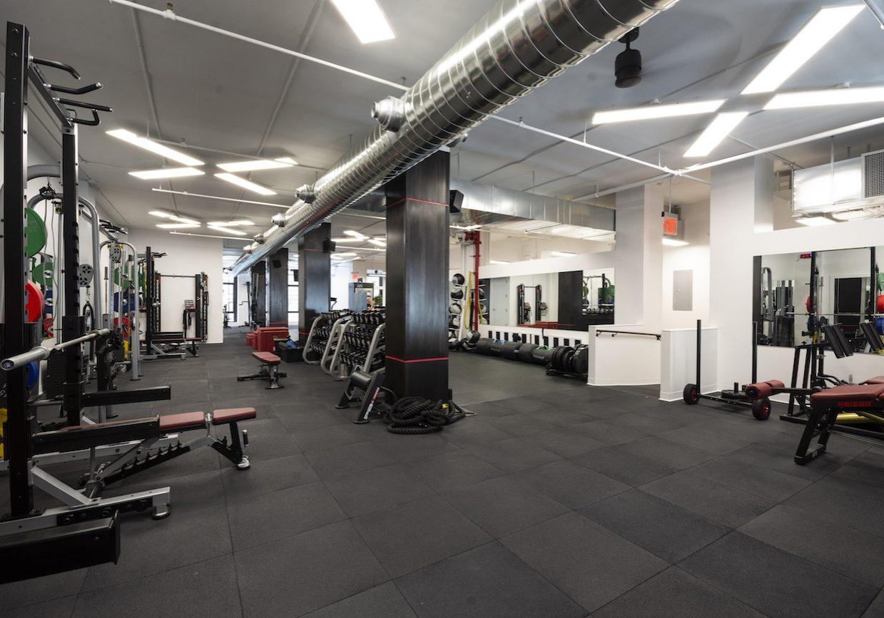 #1_The Training Floor